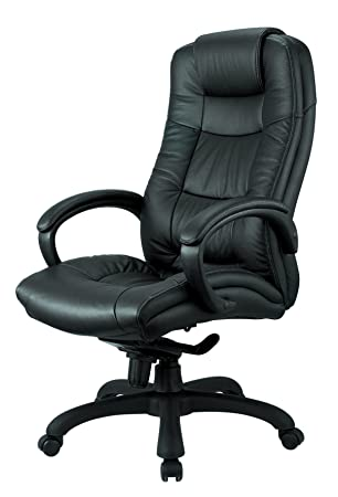 OCC Nicer Furniture Executive High Back Chair (Real Leather)