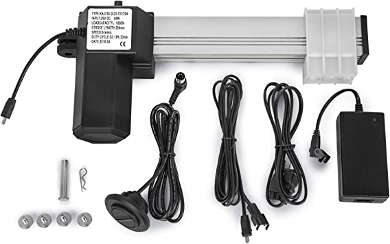 Mophorn Electric Recliner Actuator 8//204mm Stroke Length Electric Recliner Motor 1000N//220LBS Sectional Recliners 60W 29V DC Electric Recliner Motor Actuator for Lift Sofa and Recliner Motor