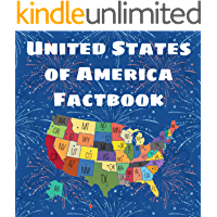 United States of America Factbook: States and Capitals Book for Kids | U.S. Geography Workbook