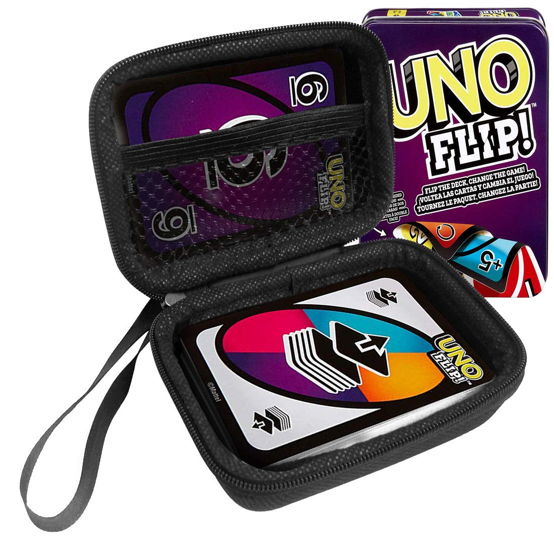 Amazon.com: FitSand Hard Case for Mattel Games UNO Flip Tin ...