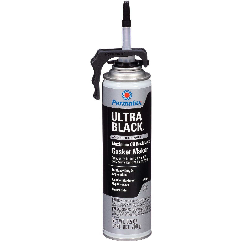 Permatex 24105 Ultra Black Joint silicone noir en cartouche Haute résistance à l'huile 250 ml Lot de 6 22072