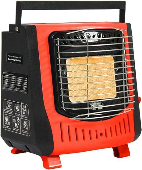 LeKing--Estufa de calefacción al Aire Libre portátil, Calentador de Gas de la Tarjeta, Estufa de la calefacción del Coche de la Pesca Que ...