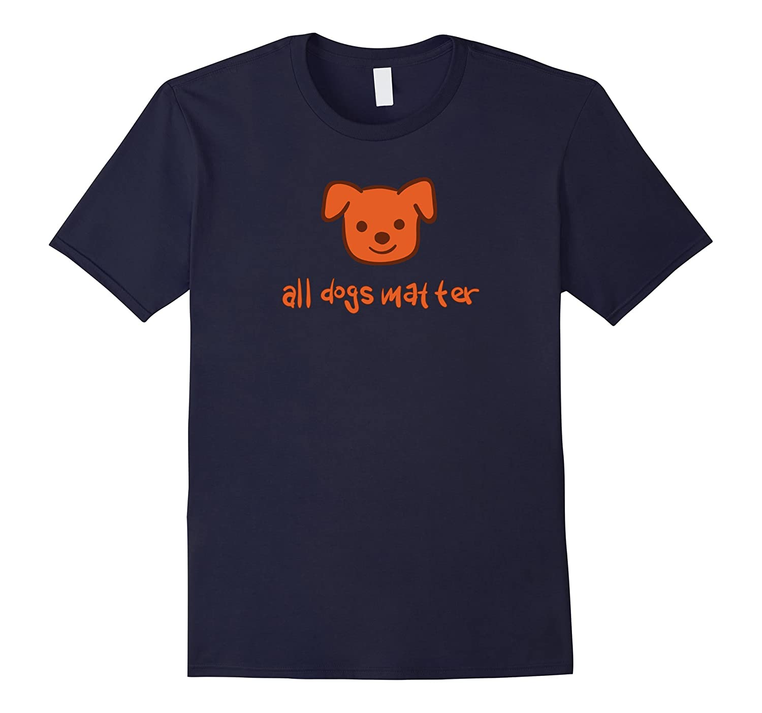 All Dogs Matter! Dog Lovers T-Shirt by Jimmo Shirts-BN