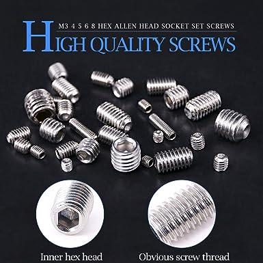 Inch 8#-32UNC Allen Socket Cap Head,Button Head,Sunk Head Screws Bolt,Nut,washer