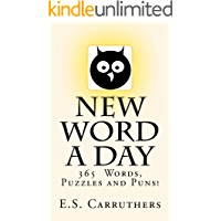 New Word A Day: Vocabulary Cartoons (New Word A Day - Vol Book 1) (English Edition)