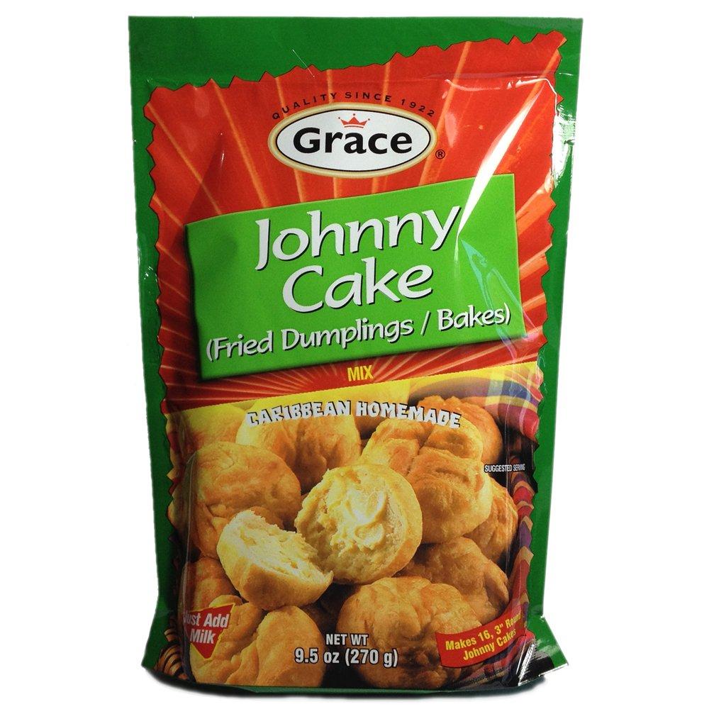 Grace Johnny Cake Fried Dumplings Mix, 9.5 oz.