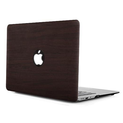 38 opinioni per iDOO- Custodia Rigia [Per MacBook Air 13]- Legno scuro