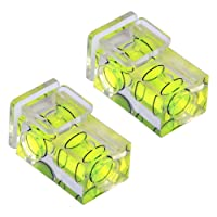 X 2 Hot shoe camera double spirit level, two axis (2-axis) - By TRIXES