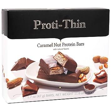 proti-thin – Caramel Nut Barra de Proteína – 15 G de ...