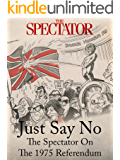 Just Say No: The Spectator On The 1975 Referendum