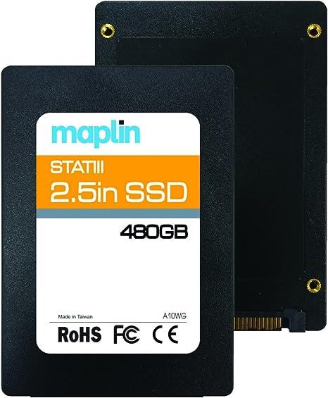 Phison 480 GB de 2.5 Pulgadas SATA III SSD 540 MB/s Interna de ...