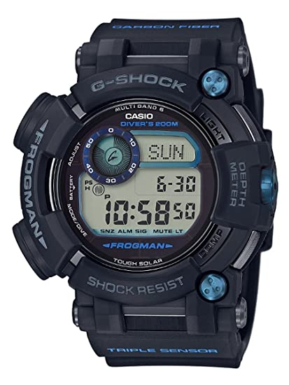 Los Hombres de la Casio G-Shock Master de G Frogman Reloj gwfd1000b-1