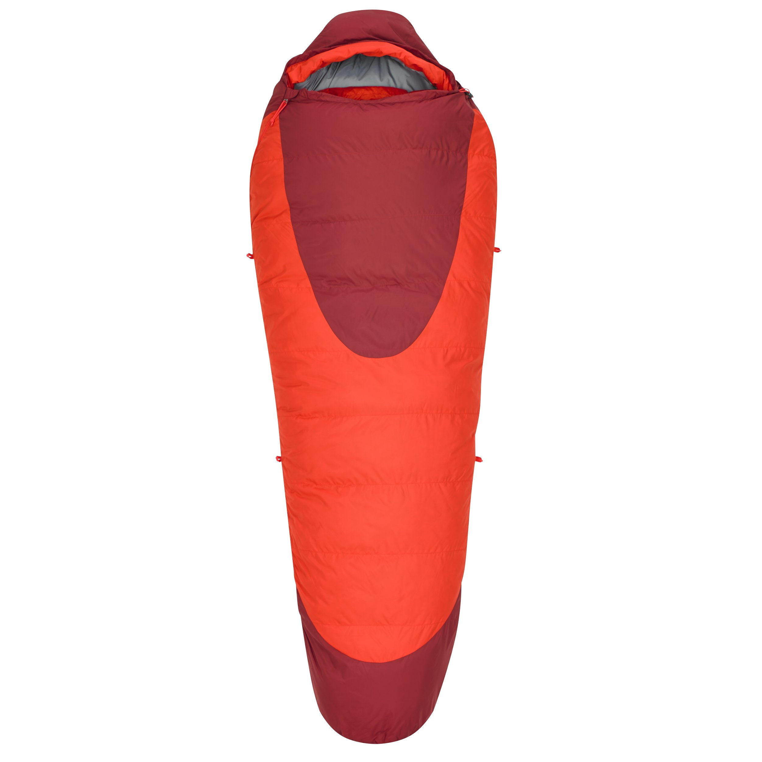 Kelty Cosmic 0 Degree Sleeping Bag, Regular, Fiery Red/Garnet by Kelty (Image #2)