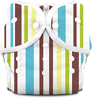 product image for Thirsties Duo Diaper Snap, Cool Stripes, Size One (6-18 lbs)