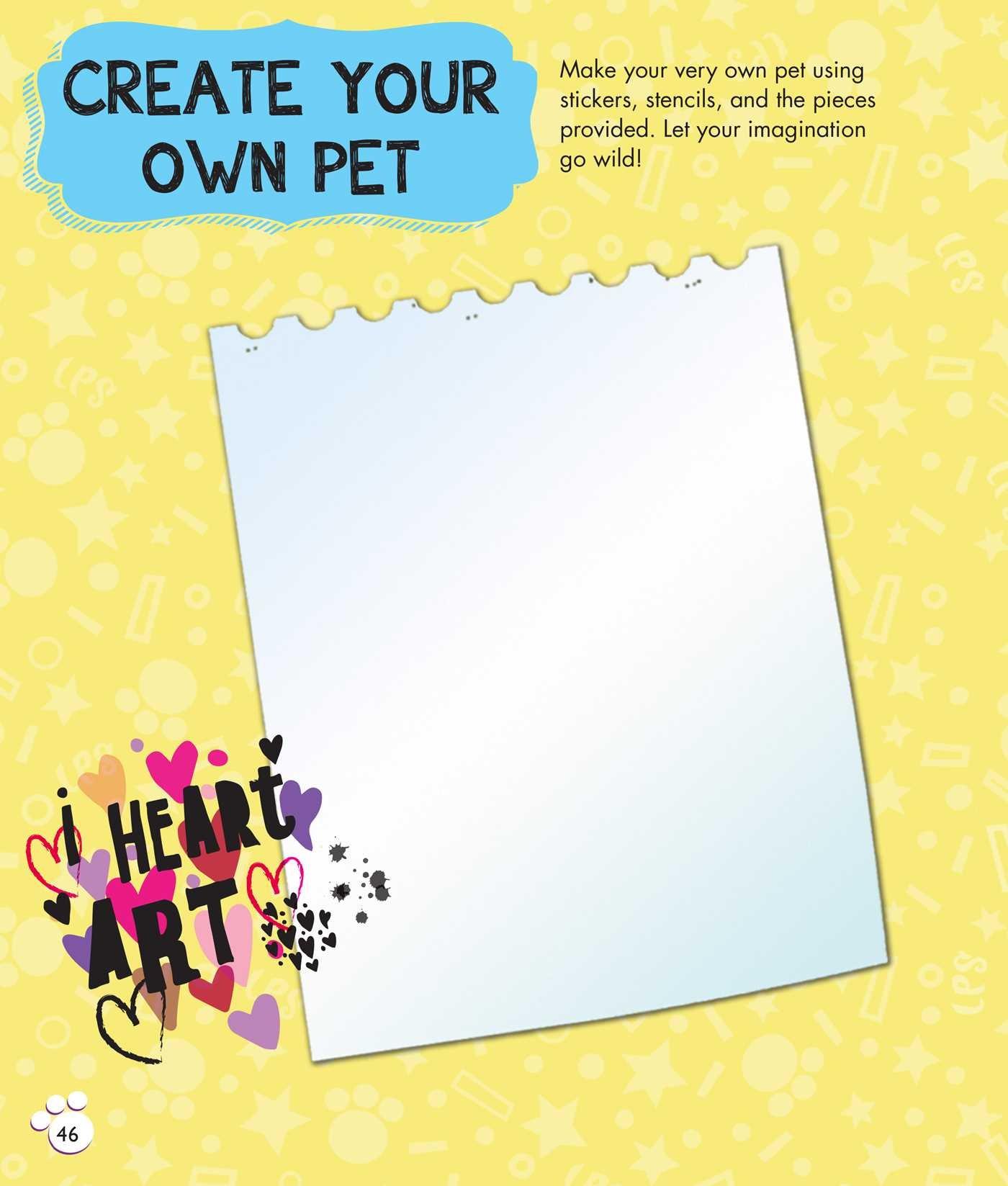 Littlest Pet Shop: I Love to Draw!