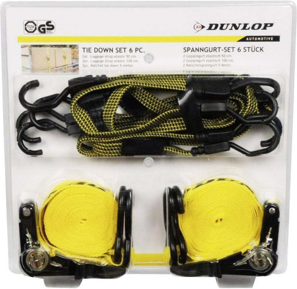 35 x 300 x 100 mm 41856 1 pc L x l x h Dunlop Assortiment de Sangles de s/écurit/é /à cliquet s