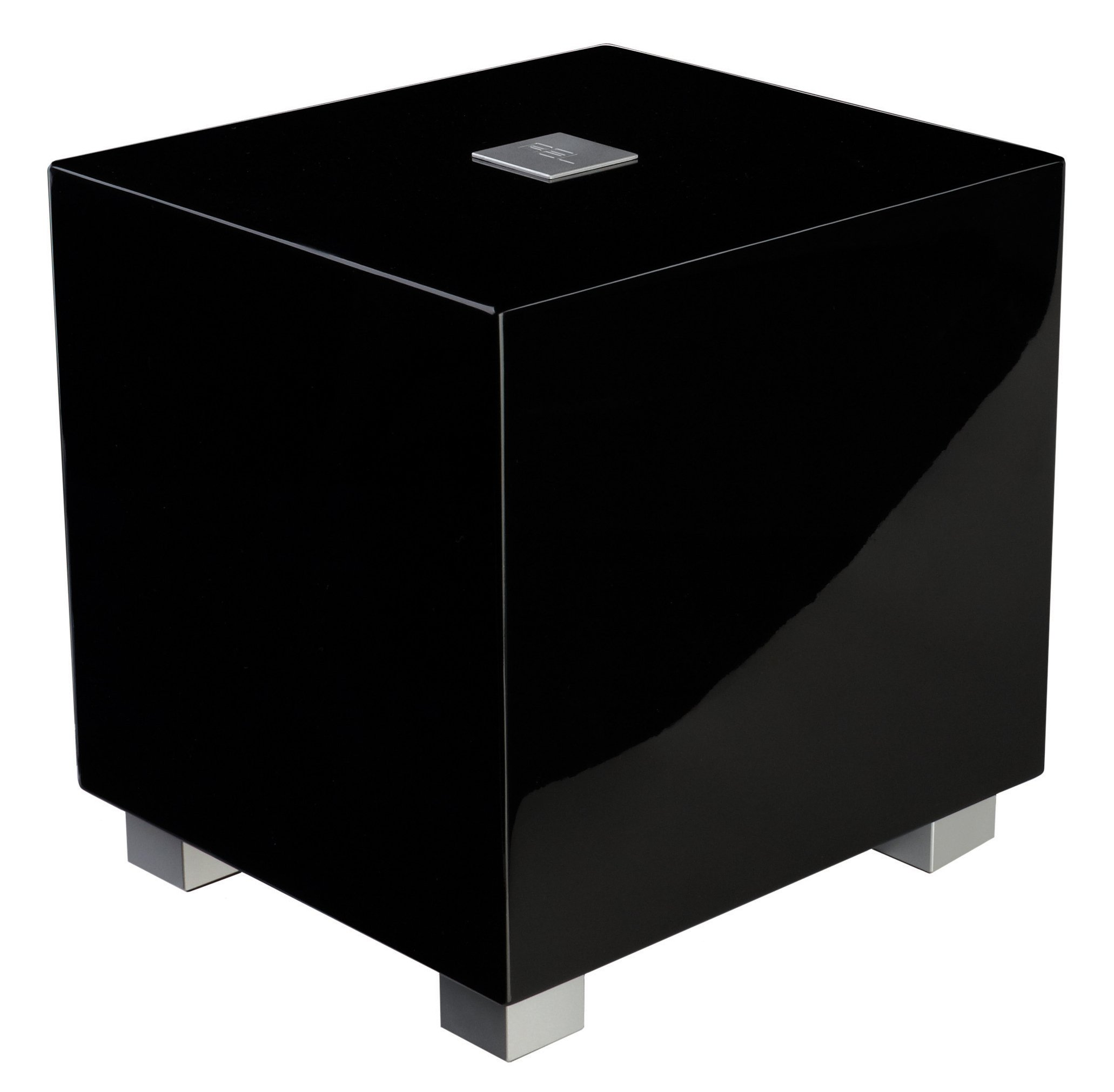REL Acoustics T/Zero Subwoofer, 6.5 inch Down-Firing Driver, High Gloss Black