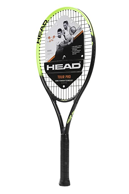 HEAD Tour Pro Pre-Strung Recreational Tennis Racquet