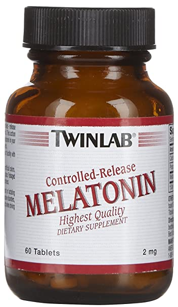 Image Unavailable. Image not available for. Color: TWINLAB, Melatonin Controlled Release 2mg ...
