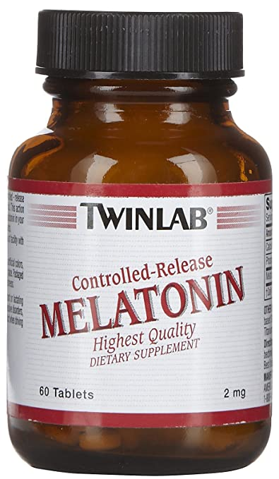 Amazon.com: TWINLAB, Melatonin Controlled Release 2mg - 60 tabs: Health & Personal Care