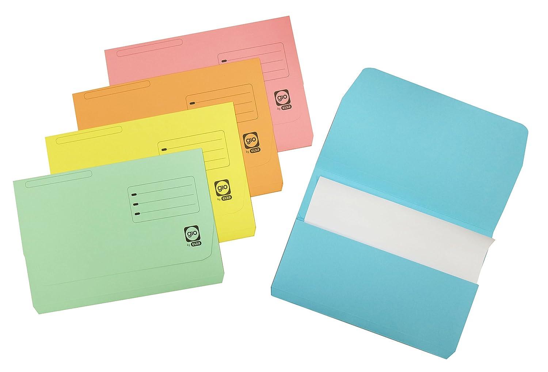 Elba Gio–Pack di 10cartelline con borsa e tasca, A4+, Multicolore Hamelin Brands 400085614