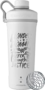 BlenderBottle Justice League Radian Insulated Stainless Steel, 26-Ounce, Wonder Woman Fierce