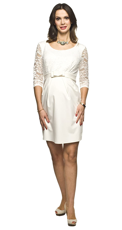 Elegantes und Bequemes Umstandskleid, Brautkleid, Hochzeitskleid für ...