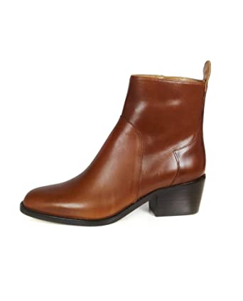 Women Leather mid-heel ankle boots 3154/301