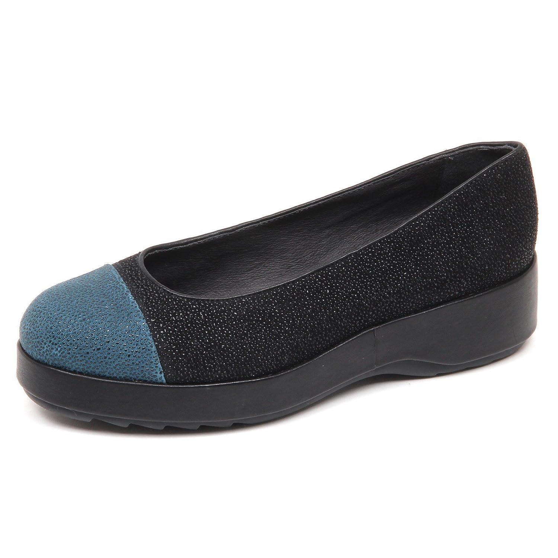 Camper D9282 (Without Box) Ballerina Donna Twins Scarpe Shoe Woman  Blu Petrolio/Nero