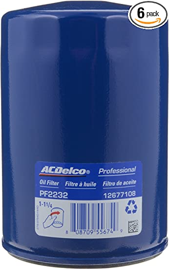 Pack of 12 ACDelco Pro GF652F Fuel Filter-Durapack