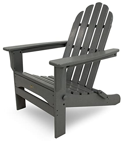 Trex Outdoor Furniture Cape Cod Folding Adirondack Chair, Stepping Stone