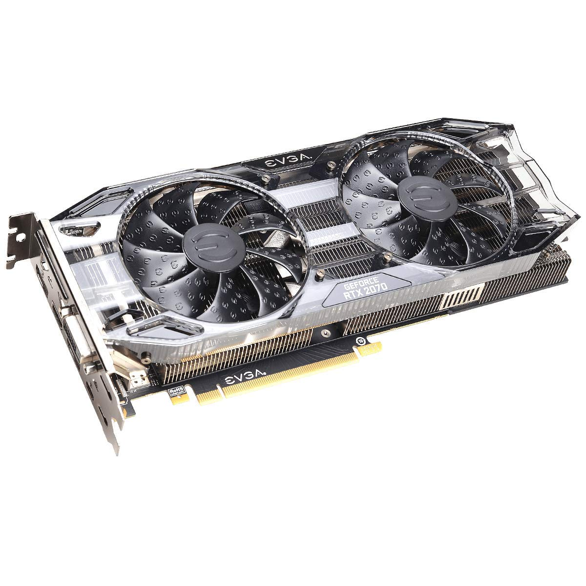 EVGA GeForce RTX 2070 Black Gaming,8GB GDDR6, Dual HDB Fans Graphics Card 08G-P4-1071-KR by EVGA (Image #4)