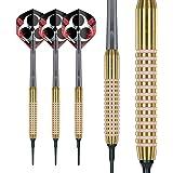 Red Dragon Phoenix 18g Softip Tungsten Darts Set mit Flights und Sch/äfte