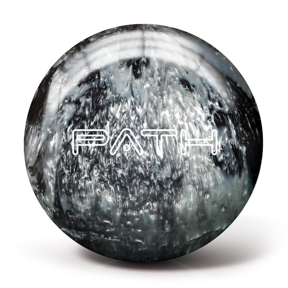 Pyramid Path Bowling Ball (Black/Silver, 16LB) by Pyramid