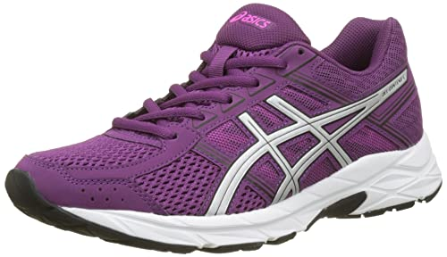 Asics Gel-Contend 4, Zapatillas de Deporte Mujer, Morado (Prune/silver/black), 39.5 EU: Amazon.es: Zapatos y complementos