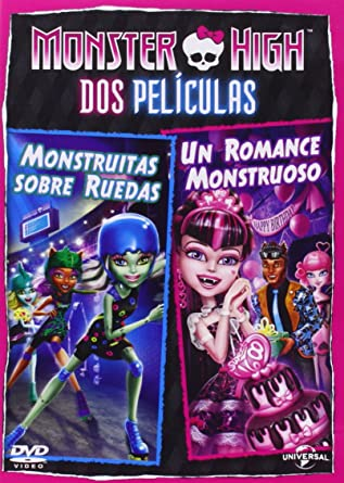 Pack Monster High: Monstruitas Sobre Ruedas + Un Romance ...
