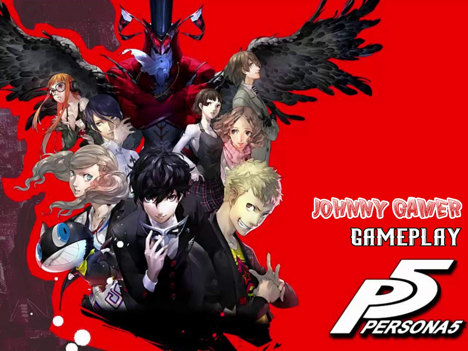 Watch Persona 5 Gameplay Johnny Gamer Prime Video