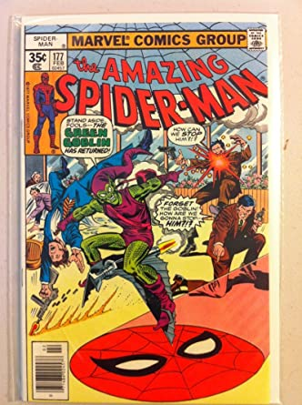 Spiderman #177 Green Goblin (app) Feb 78 NO MAILING LABEL