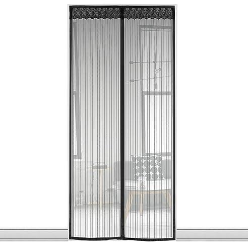 Fliegengitter Magnet Tür Insektenschutz Magnet Vorhang Fliegenvorhang Für  Den Balkon, Wohnzimmer, Schiebetür Terrassentür(