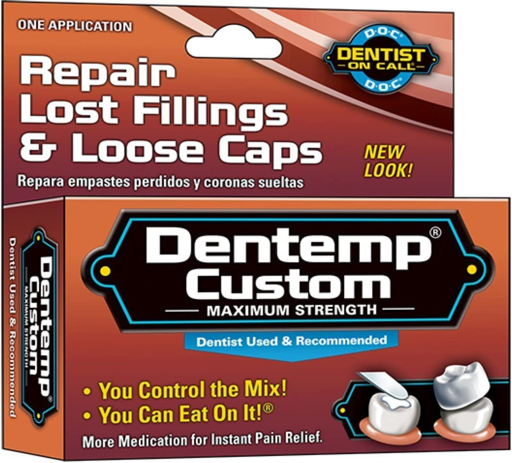 DENTEMP Custom Filling Mix 1 Each (Pack of 3): Health & Personal Care