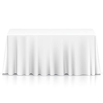Lannu0027s Linens 90u0026quot; X 132u0026quot; Premium Tablecloth For  Wedding/Banquet/Restaurant