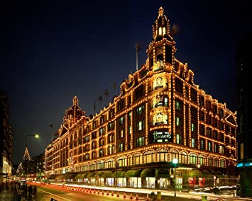 Amazon.com: Christmas Lights at Harrods, Londres, Inglaterra ...