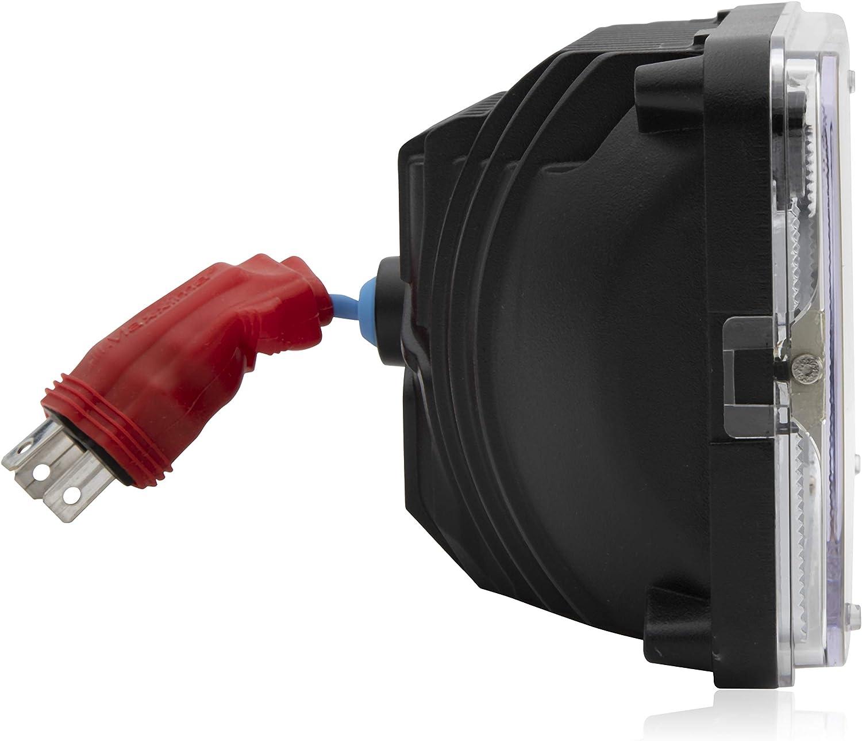 Maxxima 4X6 LED Head Lamp Low Beam with MaxxHeat Heated Lens