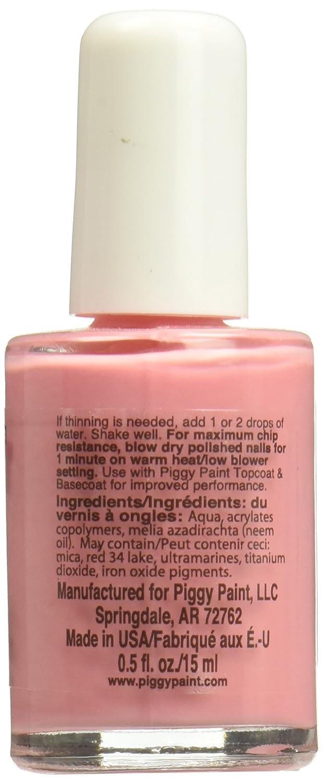 Amazon.com : Piggy Paint 100% Non-toxic Girls Nail Polish - Safe ...