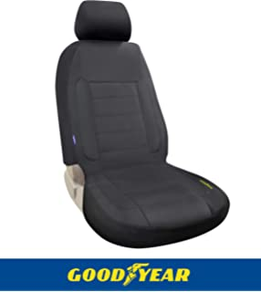 "Goodyear GY1121 \ Water Resistant Seat Cover 22/""W x 53/""H \ 100/% Pure Neoprene Fabric for Maximum Protection \ Side Airbag Compatible \ Fits Most Vehicles \ Easy Slip-on \ Adjustable Straps"