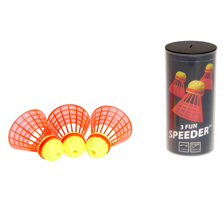 Speedminton Fun Speeder Tube, 3-Pack 400221