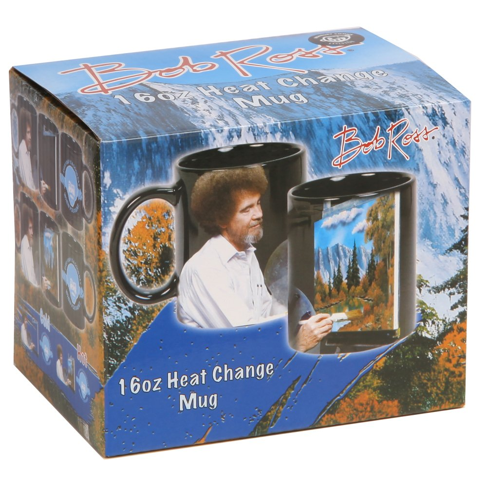 Bob Ross Heat Activated Canvas 16 oz. Coffee Mug by Classic Imports (Image #5)