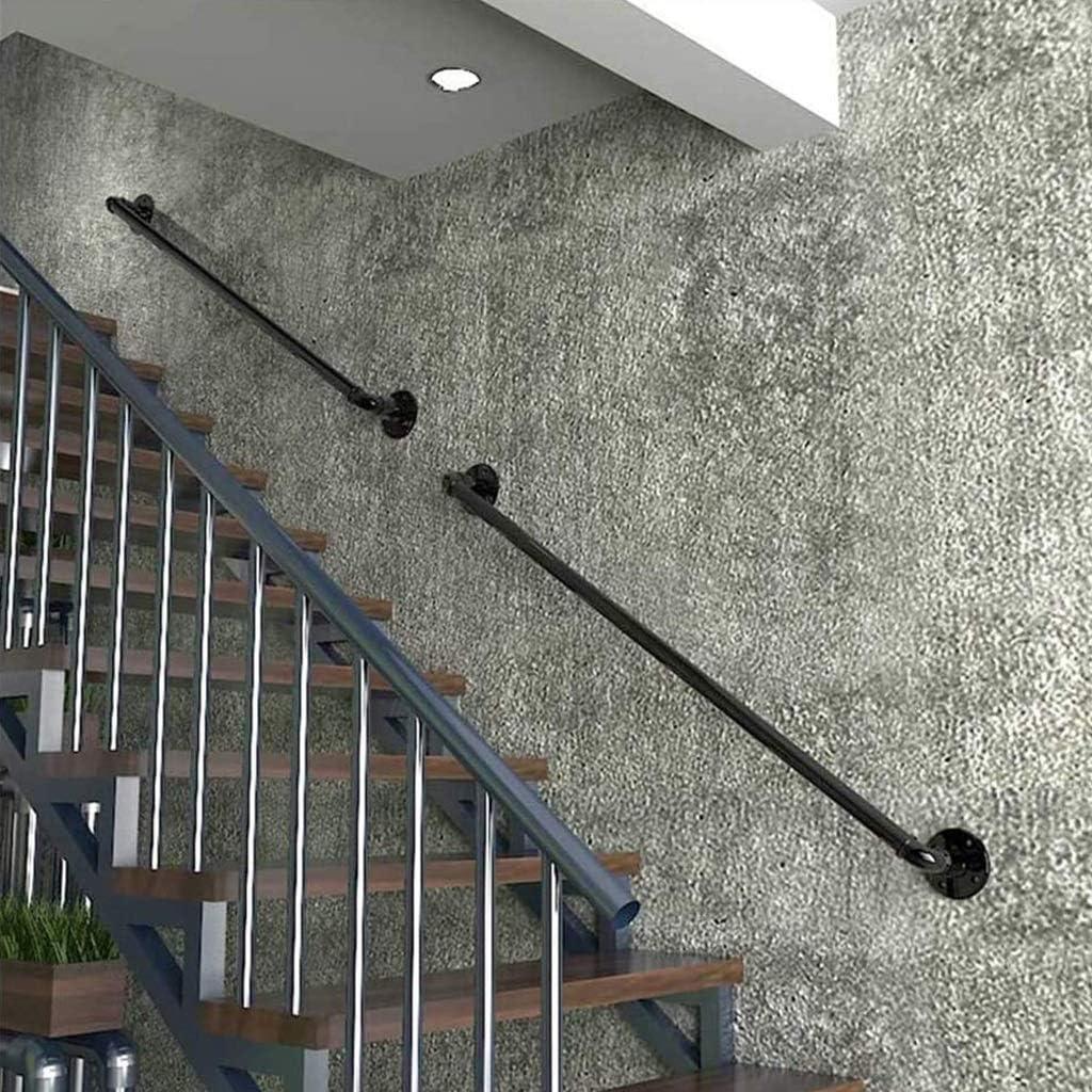 Escaleras Barandilla Pasamanos for ancianos discapacitados Bar Ni/ños Hierro forjado de escalera Barandilla Barandilla Kit barras de sujeci/ón exter Pasamanos de escaleras interiores escalera exterior