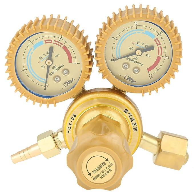 Druckminderer Druckregler f/ür Sauerstoff O2