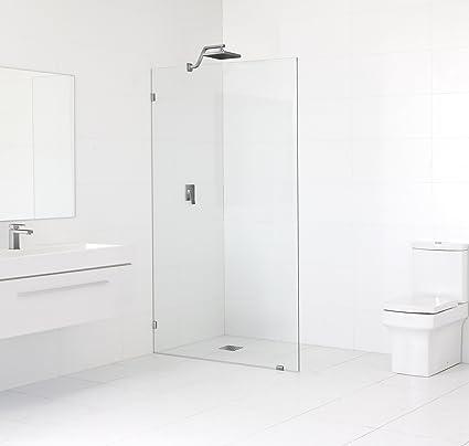 """78 """"H x 37- sin marco para mampara de ducha de vidrio ("""